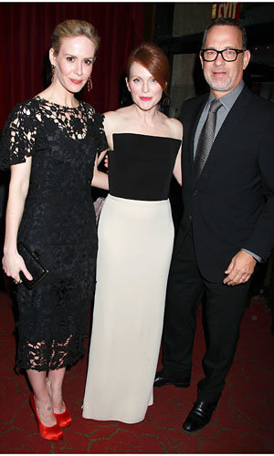 Julianne Moore and Tom Hanks at the Game Change premiere!