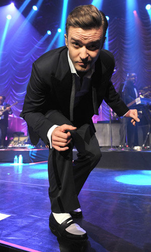 Justin Timberlake is the talk of The Grammy Awards 2013