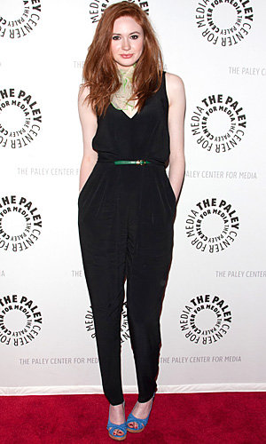 Doctor Who's sexy new sidekick wows in DKNY jumpsuit