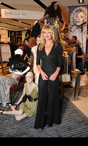 Kate Moss launches her new AW collection for Topshop!