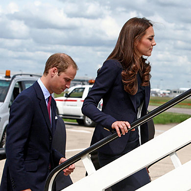 SEE PICS: Kate Middleton and Prince William set out on American tour!