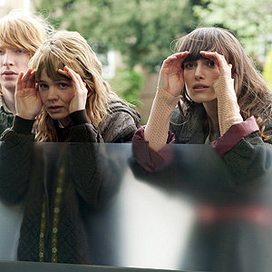 SEE PICS: Keira Knightley and Carey Mulligan on set of new film Never Let Me Go