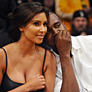 Hollywood couples get romantic at the basketball game!