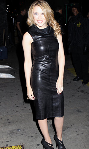 CELEB TREND ALERT! Kylie and Bonnie Wright get the leather look