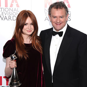 Downton Abbey and Dr Who win big at the National Television Awards