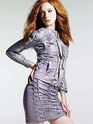 Meet Dr Who's new sidekick: Karen Gillan
