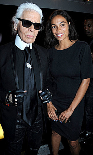 Karl Lagerfeld lands at Selfridges with glam launch party!