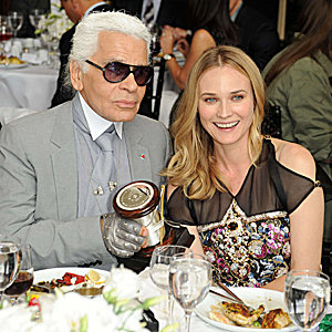 Karl Lagerfeld hailed as 'fashion visionary' by New York's Couture Council