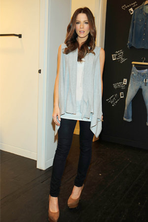PICS: Celebrities check out the new Gap 1969 jeans store