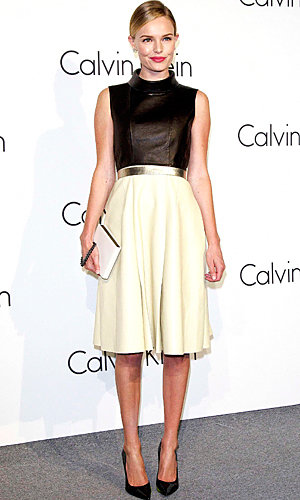 Kate Bosworth and Lara Stone party for Calvin Klein!