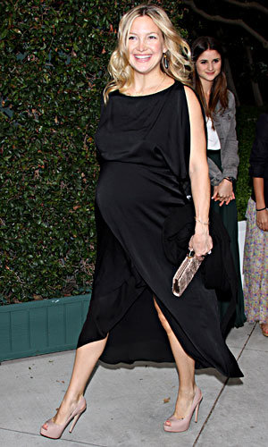 Pregnant Kate Hudson hits star-studded Chanel benefit