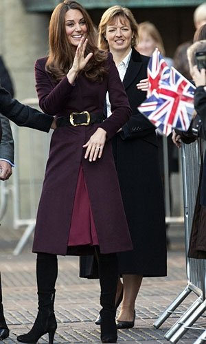 Kate Middleton recycles her autumn coat!