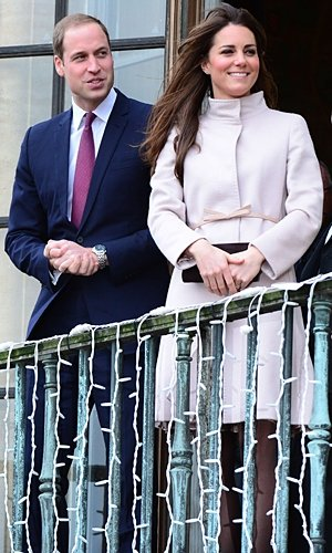 Kate Middleton and Prince William enjoy pub lunch