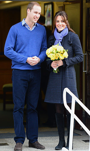Pregnant Kate Middleton is discharged from hospital