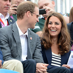 Kate Middleton and the Princes watch Team GB take silver medal