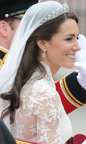 Kate Middleton opts for natural wedding beauty