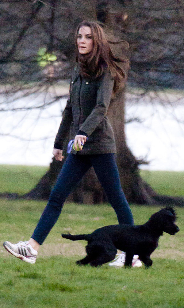 Has Kate Middleton hired a yoga instructor?