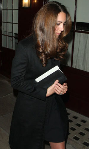 Kate Middleton and Prince William's night out!