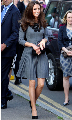 Kate Middleton wows London with a stunning Orla Kiely dress on Royal visit…