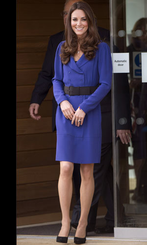Kate Middleton wears Reiss dress for her first solo public speech!