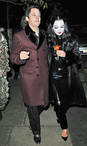 Kate Moss and Gwen Stefani play dress up for Halloween