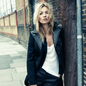 Kate Moss is the new face of Rag & Bone