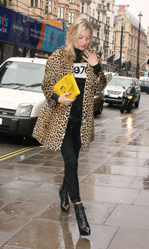Kate Moss takes style inspiration from Alexa Chung