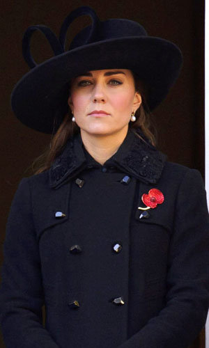 Kate Middleton wears Diane von Furstenberg at Remembrance Day Service