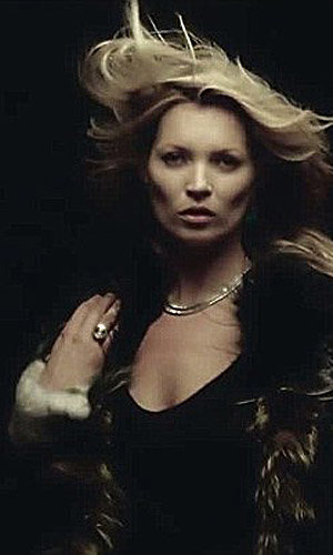 Kate Moss sizzles in George Michael's video White Light!