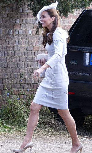 Kate and Pippa Middleton's wedding guest style!