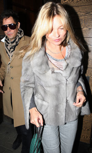 Kate Moss celebrates her birthday with hubby Jamie Hince!