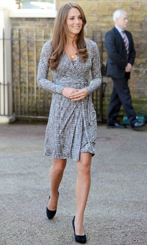 Kate Middleton wears MaxMara maternity wear