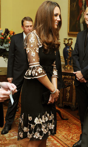 Kate Middleton wears ALICE by Temperley at Team GB reception!
