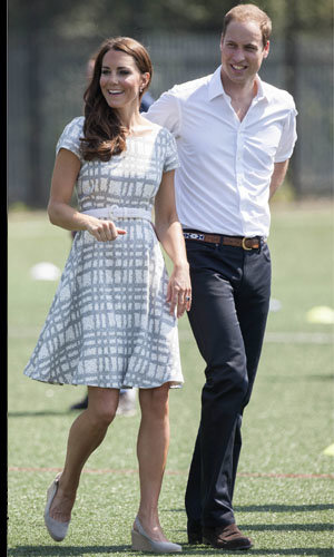 Kate Middleton and Prince William warm up for the Olympics!