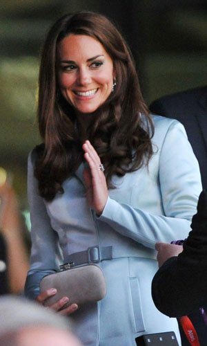 Kate Middleton wears Christopher Kane at the Olympics Opening Ceremony!