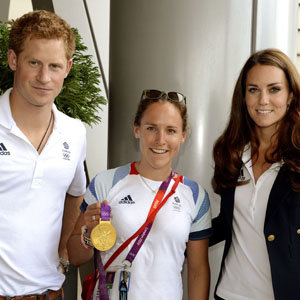 Kate Middleton and Prince Harry congratulate British athletes!