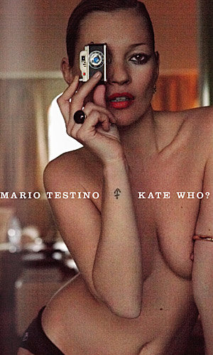 Kate Moss by Mario Testino: the exhibition