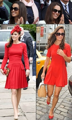Kate and Pippa Middleton: Style twins