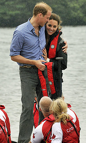 Prince William and Kate Middleton get competitive on Royal Tour