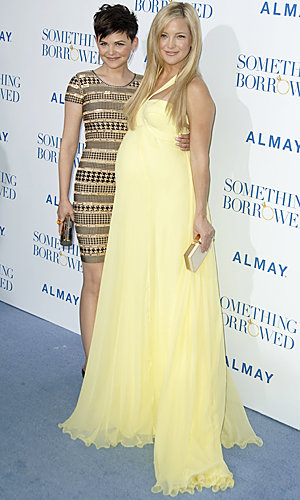 Kate Hudson and Ginnifer Goodwin shine at the LA premiere of Something Borrowed
