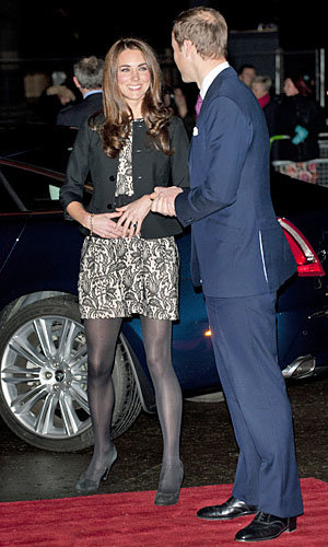 SEE PICS: Kate Middleton and Prince William take that to see Gary Barlow in concert for the Prince's Trust