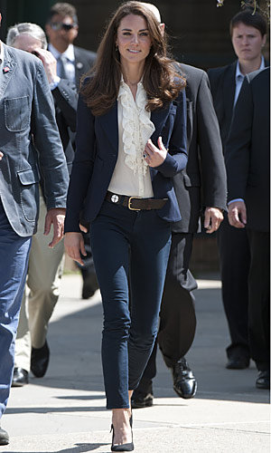 Kate Middleton loves her J Brand jeans