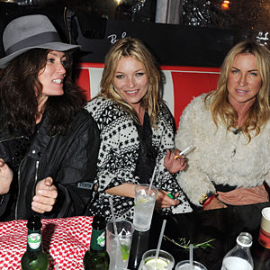 Kate Moss wore Primark to her hen-do at the Isle of Wight Festival