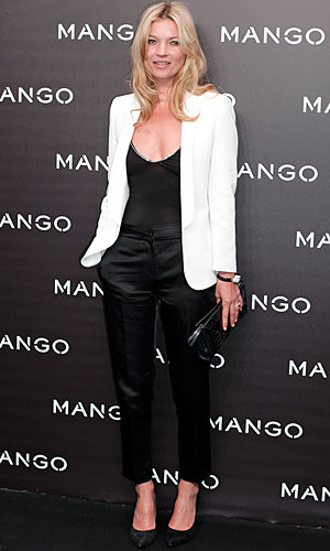 New face of Mango, Kate Moss hits the Autumn/Winter fashion show!