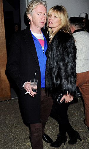 Kate Moss parties in London's hot new bar