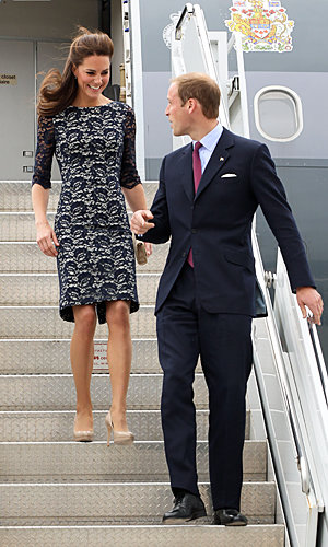 Kate Middleton kicks off Royal Tour in Canada wearing Erdem and Issa