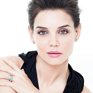 Katie Holmes models for H Stern Jewellery
