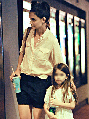 Katie Holmes and Suri Cruise's girls' day out!