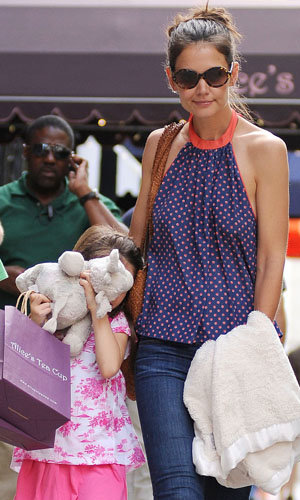 Katie Holmes and Suri Cruise's girls day out!