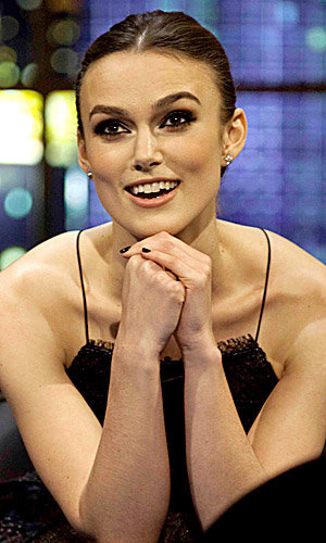Keira Knightley wows on Jonathan Ross